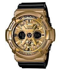 Casio G Shock * GA200GD-9B2 Gold Series Anadigi Gold & Black Resin COD PayPal