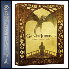 GAME OF THRONES - COMPLETE SEASON 5  *BRAND NEW DVD***