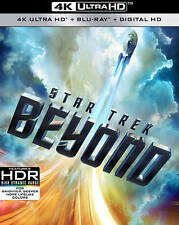 Star Trek Beyond 4K Ultra HD Blu-ray, 2016, UHD, Chris Pine, Zachary Quinto