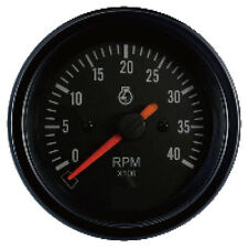 85mm auto gauge 0-4000 rpm Tachometer for marine yacht
