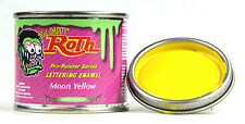Moon yellow lil daddy roth pinstriping paint enamel hot rod sign lettering