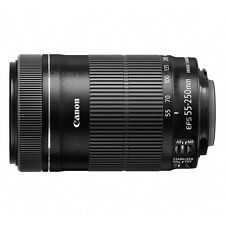 Canon EF-S( 55-250mm) f/4-5.6 IS STM Lens (Black)