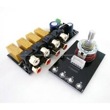 Audio Input signal Selector Relay Board / Signal Switching Amplifier Board + RCA