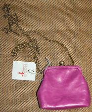 NWT New HOBO INTERNATIONAL Libby Crossbody Frame Clutch Wallet Purple
