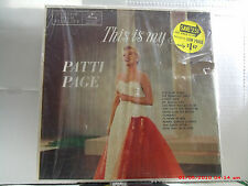 """PATTI PAGE -(LP)- THIS IS MY SONG   MY SONGS  """"THE TENNESSEE WALTZ""""-MERCURY-1955"""