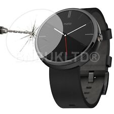 100% GENUINE Tempered Glass Screen Protector for MOTO 360 watch