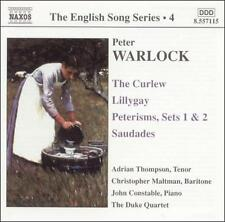 Warlock: The English Song Series Vol. 4 - The Curlew; Lillygay: Peterisms, Sets