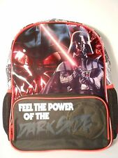 Star Wars DARTH VADER Printed Backpack School Bag - NEW -  THE FORCE AWAKENS