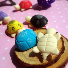 Cute Colorful Turtle Shape Cleansing Rubber Eraser Stationary Kid Gift Toy Lots