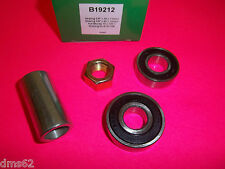 NEW MURRAY SPINDLE BEARING SET WITH SPACER & NUT FITS 492574 SPINDLE 19212 BTT