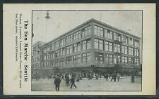WA Seattle LITHO c1904 THE BON MARCHE DEPARTMENT STORE Western America's Largest