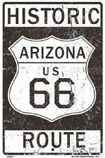 """Historic Route 66 Metal  Sign 10"""" x 15""""  made in USA Vintage Look #WS087"""