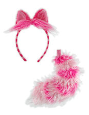 Disney Alice In Wonderland Cheshire Cat Adult & Kids Costume Headband Ears Tail