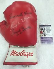 Angelo Dundee Boxing Trainer Ali Signed + Inscribed Everlast Boxing Glove JSA
