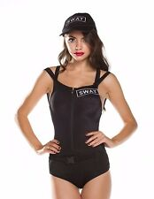 NEW Ninimour Women's Halloween Swat Hottie Officer Cosplay Set Size: Medium