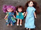 Vintage Perfekta Dolls X3 Made In Hong kong