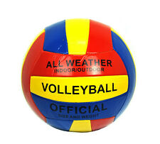 Volleyball Ball Soft Official Olympic Indoor Outdoor Size 5 Multi-Color NEW