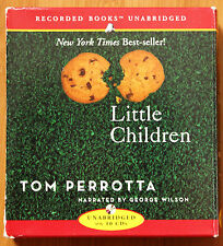 Little Children by Tom Perrotta (2004, CD) Recorded Audio Book in English