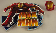 Iron Man 2 Cake Deco Kit CASE LOT 48 SETS ~ w/Layon Topper & Ring