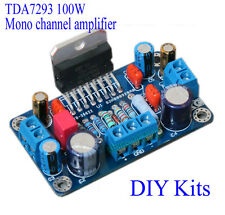 MINI TDA7293 100W Mono Single Channel Amplifier Board Module DIY Kits