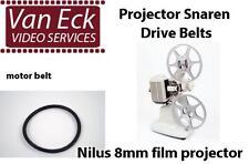 Nilus 8mm film projector belt (motor belt). New belt for replacing your broken o