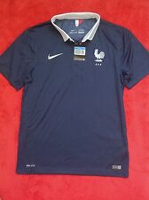 ULTRA RARE NIKE FFF MAILLOT EQUIPE FRANCE HOME 14/16 PLAYER PRO STOCK SIZE M