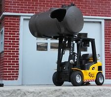 Forklift Miniature w Ruptured Tank Load 1/24 Scale Diorama Accessory Items