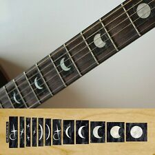 Moonface moon fase FRET Marcatori Inlay Adesivo Decalcomania Chitarra