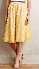 NEW Anthropologie Pallavi Mohan Not So Serious Buttercup Tulle Skirt Size XS