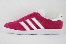 New Mens Adidas Originals Gazelle 91 Bold Pink White Trainers UK 10 BB5483