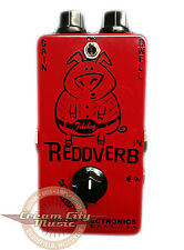 Brand New Durham Electronics Reddverb Reverb Preamp Guitar Effect Pedal