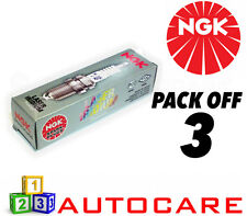 NGK Laser Iridium Spark Plug set - 3 Pack - Part Number: IKR6G11 No. 7980 3pk