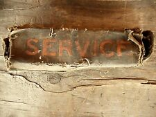 Vintage Model T ? Model A Ford? Tool Box Pouch Canvas ...Very old & Greasy rare