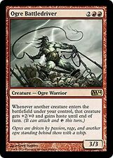 Ogre Battledriver   CHINESE  EX/NM FOREIGN  M14 MTG  CHINESE Red Rare