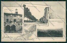 Siena Radda in Chianti Saluti da STRAPPO cartolina QQ1845