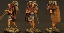 Tin toy soldiers ELITE painted 54 mm  Roman warrior in the campaign.