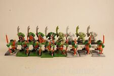 OOP Warhammer Quest PARTS LOT - ORCS! Archers / Warriors WFB Greenskins Lot 2