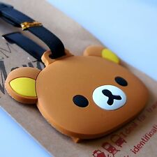 Rilakkuma Soft Silicone Rubber Luggage Bag Backpack Address Tag