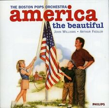 America The Beautiful - Williams/Fiedler/Boston Pops Orch. (1996, CD NEUF)