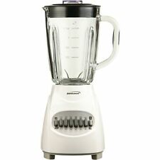 Brentwood Appliances 12 Speed Blender with Glass Jar (White) JB-920W