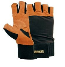Weight lifting gloves nivia 890 with wrist support