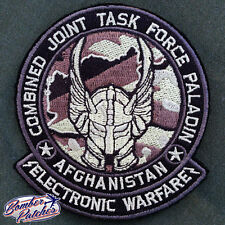 101ST AIRBORNE COMBINED JOINT TASK FORCE PALADIN PATCH, ELECTRONIC WARFARE, CJTF