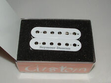 Seymour Duncan SH-1 59 Model Neck  WHITE and Logo 4 Conductor New with Warranty