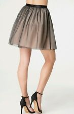 NWT bebe LAYERED TULLE MINISKIRT SIZE M Sweetly romantic skirt charming!!