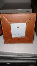 LEATHER PHOTO FRAME FOR 3 X 3 PICTURES NEW LOT OF 2