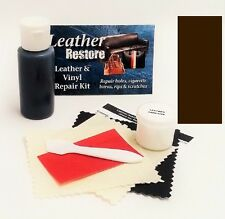 Air Dry Leather & Vinyl Repair Kit ESPRESSO VERY DARK BROWN Fix Couch Sofa Shoes