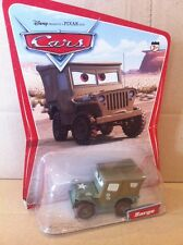 "DISNEY CARS pressofusione - ""SARGE-deserto card 16 BACK"" - SPEDIZIONE COMBINATA"