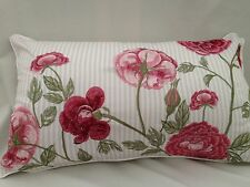 Kew Gardens Rose Garden luxury embroidered cushion cover