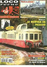 LOCO REVUE N°621 RESEAU HO : 6 MODULES ASSEMBLES EN FORME DE MANEGE / MORVAN