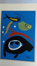JOAN MIRO(SPANISH,1893-1983)VINTAGE LARGE COLOR MODERNIST ABSTRACT LITHOGRAPH